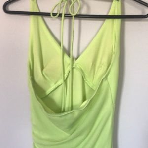 Dresses - Lime Dress